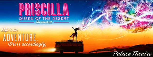 ¡Priscilla Queen of the Desert aparcará en el West End de Londres! ¡Prepárate para el viaje musical en autobús de tu vida con Priscilla Queen of the Desert en Londres! ¡Compra las entradas ahora!