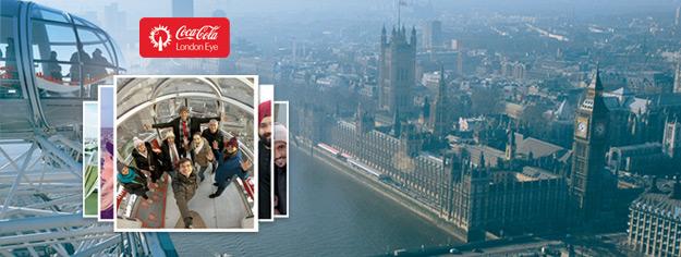 """شاهد لندن من منظور جديد تماما من خلال أحد كبسولات دولاب الهواء """"لندن آي"""". احجز تذاكرك اليوم وتفادى الوقوف في الطوابير الطويلة."""