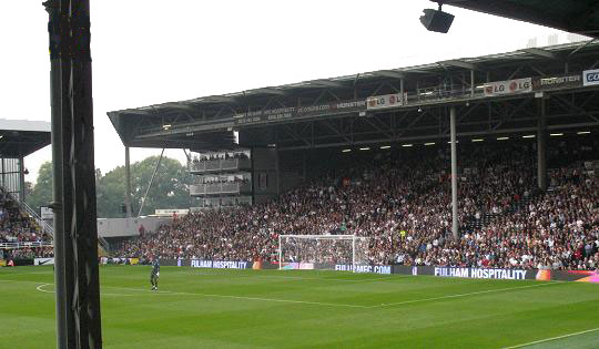 Craven Cottage. PilkaLondyn.pl