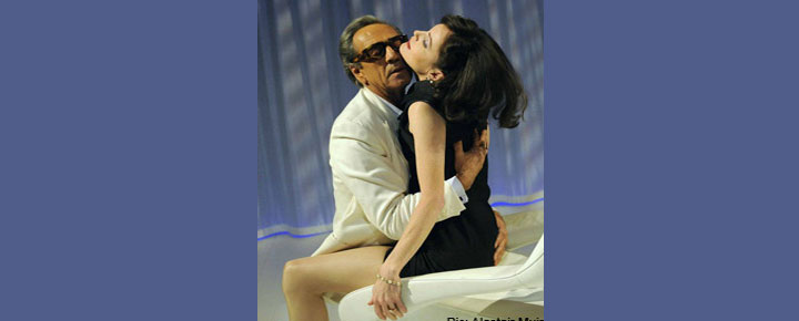 See Onassis in London. Portraying his family and the women he loved. See Onassis in London. Buy your tickets here!