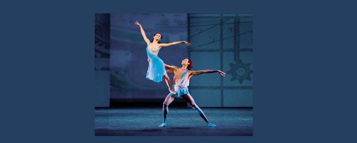 Se Mikhailovsky's dansere i Triple Bill på London Coliseum i London. Køb billetter til triple Bill i London her!