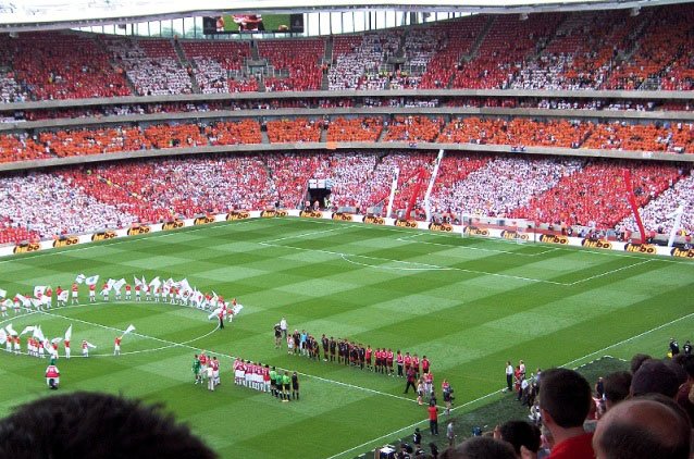 Estadio Emirates Stadium. FútbolenLondres.es