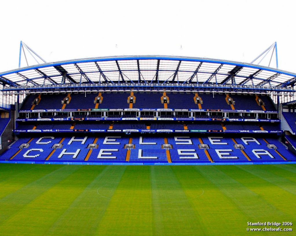 Estadio Stamford Bridge. FútbolenLondres.es
