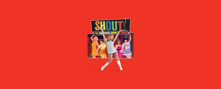 Musicalen Shout i London er et portræt af den fantastiske periode i 1960'erne i London. Musikken til Shout er selvfølgelig også fra 1960'erne. Billetter til Shout i London købes her!