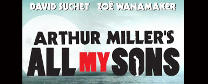 All My Sons i London, er selvfølgelig bygget over Arthur Miller's mesterværk, og har David Suchet og Zoe Wanamaker i hoverollerne. Billetter til All My Sons i London købes her!