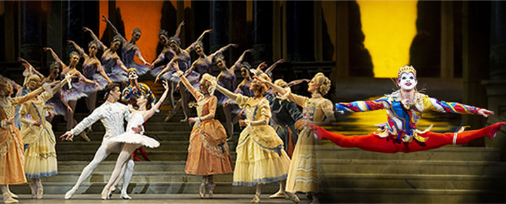 See Prokofiev's fabulous ballet Cinderella in London. Buy tickets to Cinderella here!
