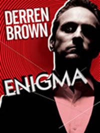Derren Brown, den verdensberømte 'mind' magiker vender tilbage til Adelphi Theatre i London West End. Billetter til Derren Brown: Enigma i London købes her!