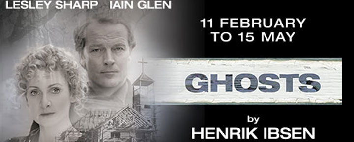 Watch the play Ghost by Ibsen at the Duchess Theater in London. Tickets are available here!