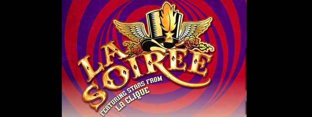The stars from La Clique; The English Gents, Captain Frodo, David O'Mer ('Bath Boy') and Miss Behave - are returning to London in La Soiree. Buy Tickets here!