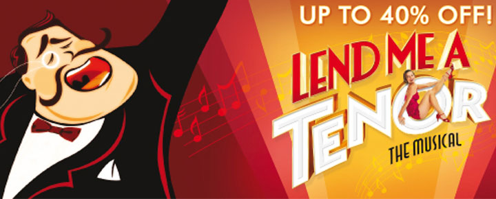 Lend me a Tenor, is a new musical comedy by Peter Sham and Brad Carroll and is playing in London. Buy your tickets for Lend me a Tenor in London here!