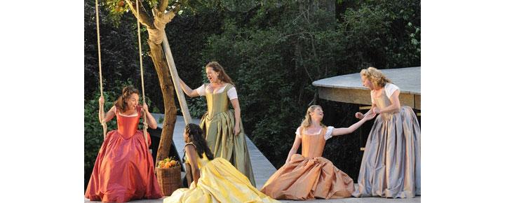 Much Ado About Nothing på Open Air Theatre i London er en af Shakespeare's mest elskede stykker. Billetter til Much Ado About Nothing i London købes her!