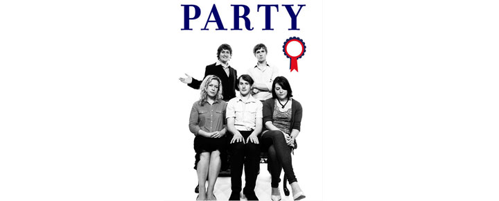 Party in London, by Tom Basden comes to London's Arts Theater for a short period. Tickets for Tom Basdens Party in London buy here!