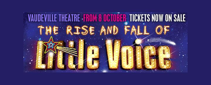 The Rise and Fall of Little Voice i London har Diana Vickers från engelska X-Factor i huvudrollen. Köp era biljetter på Londonmusikaler.se!