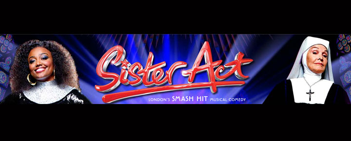 Sister Act The Musical i London West End, er baseret på succes filmen af samme navn. Sister Act spiller på London Palladium, og har premiere i 2009. Billetter til Sister Act købes her!