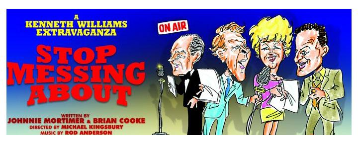 Stop Messing About i London er et vildt morsom drama med sketcher og sange, og baggrunds temaer fra udvalgte BBC optagelser. Billetter til Stop Messing About i London købes her!