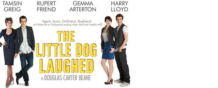 Se Tamsin Greig och Rupert Friend i Hollywood satiren THE LITTLE DOG LAUGHED i London på Garrick Theatre! Köp dina biljetter här och nu!