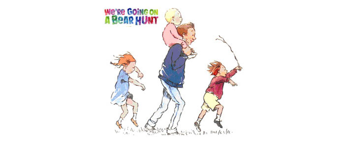 We're Going On A Bear Hunt der spiller på Duchess Theatre i London er bygget over den berømte børnehistorie med samme navn- Billetter til We're Going On A Bear Hunt i London købes her!