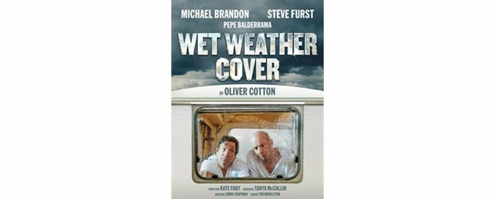 Wet Weather Cover i London är Oliver Cottons humoristiska pjäs. Biljetter till Wet Weather Cover i London kan köpas här!