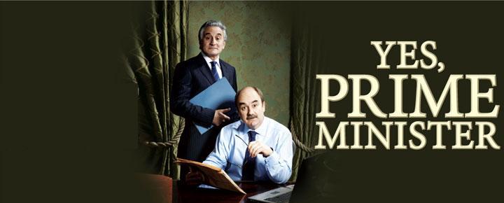 """Erleben Sie Henry Goodman und David Haig in """"Yes, Prime Minister"""" im Trafalgar Studios in London. Kaufen Sie Ihre Tickets hier!"""