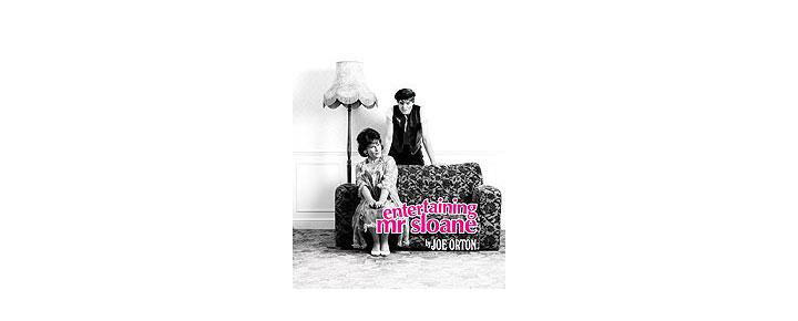 I Entertaining Mr. Sloane på Trafalgar Studios i London West End spiller Imelda Staunton og Mathew Horne hovedrollerne i Joe Orton's syndige og bidende komedie.