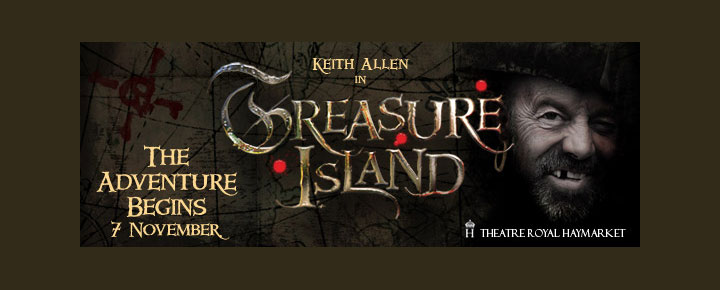 The Treasure Island i London, på dansk Skatteøen, er et pragtfuldt skuespil bygget over Robert Louis Stevenson's klassiske eventyr! Billetter til Haymarket Theatre Royal kan købes her.