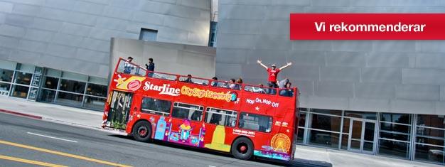 Biljetter till Hop-On Hop-Off Citysightseeing Los Angeles. Upplev L.A. från Hollywood till Beverly Hills - från Santa Monicas stränder till Downtown LA.