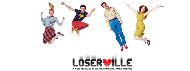 Loserville is a new British musical by Elliot Davis and James Bourne that takes geek to a whole new rock-pop level. Book your tickets to Loserville in London here!