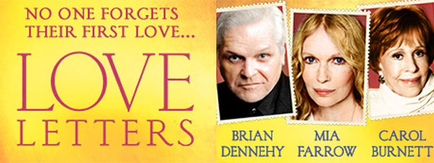 """Love Letters"" on Broadway in New York is a disarmingly funny and unforgettably emotional portrait about the powerful connection of love. Book your tickets here!"