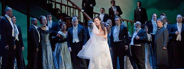 Oplev det nye koloratur talent synge bel cantos vanvittige brud og levere operaens mest medrivende scene i Lucia di Lammermoor. Bestil her.
