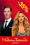 Tickets to Madame Tussauds Lontoo