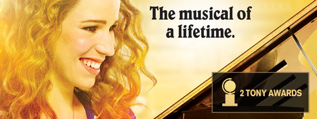 Experience the Tony Award-winning musical Beautiful: The Carole King Musical on Broadway! Book tickets online and prepare for an unforgettable night!