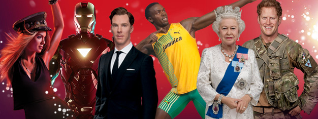 Skip the line to London's Madame Tussauds wax museum with prebooked tickets. Save 25% on your tickets! Fun for the whole family! Buy online!