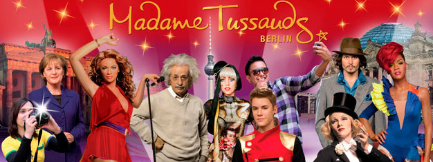 Skip the line to Madame Tussauds Berlin and get close and personal with your favorite stars. Book your tickets for Madame Tussauds Berlin here!