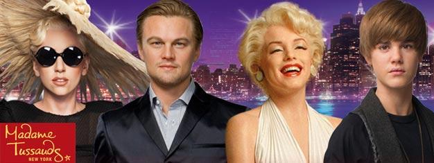Salta la coda per il famoso Madame Tussauds a New York con i biglietti prenotati! Divertimento per l'intera famiglia! Prenota i biglietti online!