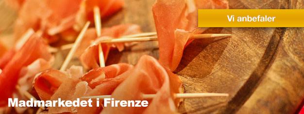 Besøg Sant'Ambrogio-markedet i Firenze. Denne 3 timers tur er er mest for enhver madelsker! Sikre dig en plads på turen her!
