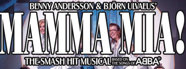 The musical with Abba music, Mamma Mia, is now on Broadway in New York!. Get your tickets here to the lively Mamma Mia on Broadway!