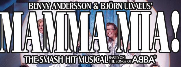 Mamma Mia musicalen med musik fra ABBA spiller på Broadway i New York. Køb billetter til Mamma Mia the Musical på Broadway i New York her!