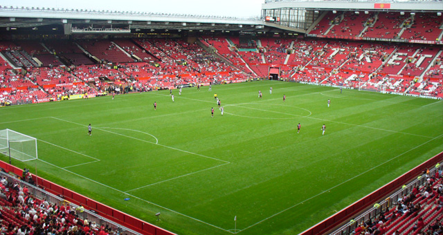 Old Trafford. ManchesterOchLiverpool.se
