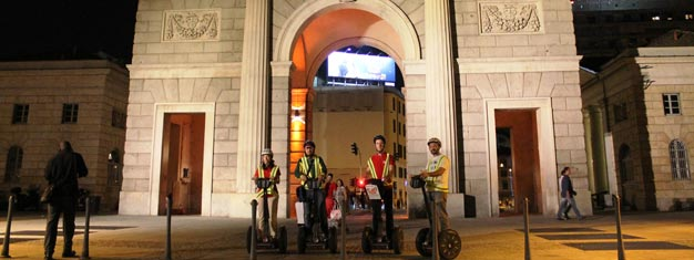 Join us on this segway tour of Milan by night and experience a memorable ride through the beautiful city filled with lights. Book your tour here!