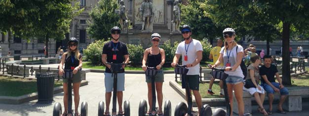 Milan Segway Tour is a very great, fun and alternativ way to see and learn about Milan. Book your tickets for Milan Segway Tour here