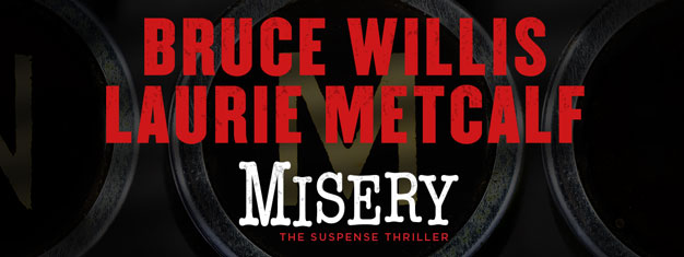 Bruce Willis makes his Broadway debut in Misery, a thriller based on the classic Stephen King novel. Book your tickets for Misery on Broadway in New York here!