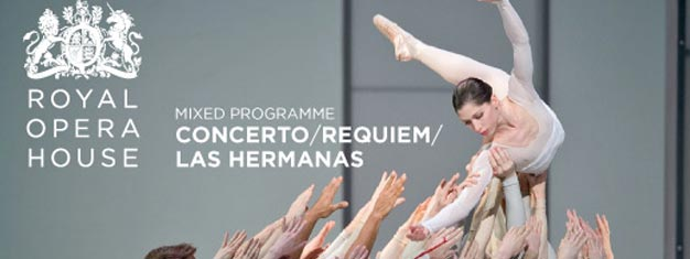 Concerto, Las Hermanas & Requiem is a trio of Kenneth Macmillan ballets performed at the Royal Opera House. Book tickets here!