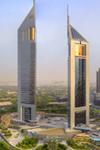 Det moderne Dubai med Burj Khalifa