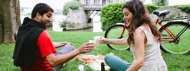 Geniet van een fietstour naar Normandië en het dorpje Vernon, hier kunt u de privétuinen van Monet verkennen per fiets! Boek hier!