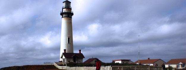 Ta turen ned en av de vakreste kystene i verden. Vår rute tar degmed til Highway no 1, og langs17 Mile Drive inn til Carmel-by-the-sea.