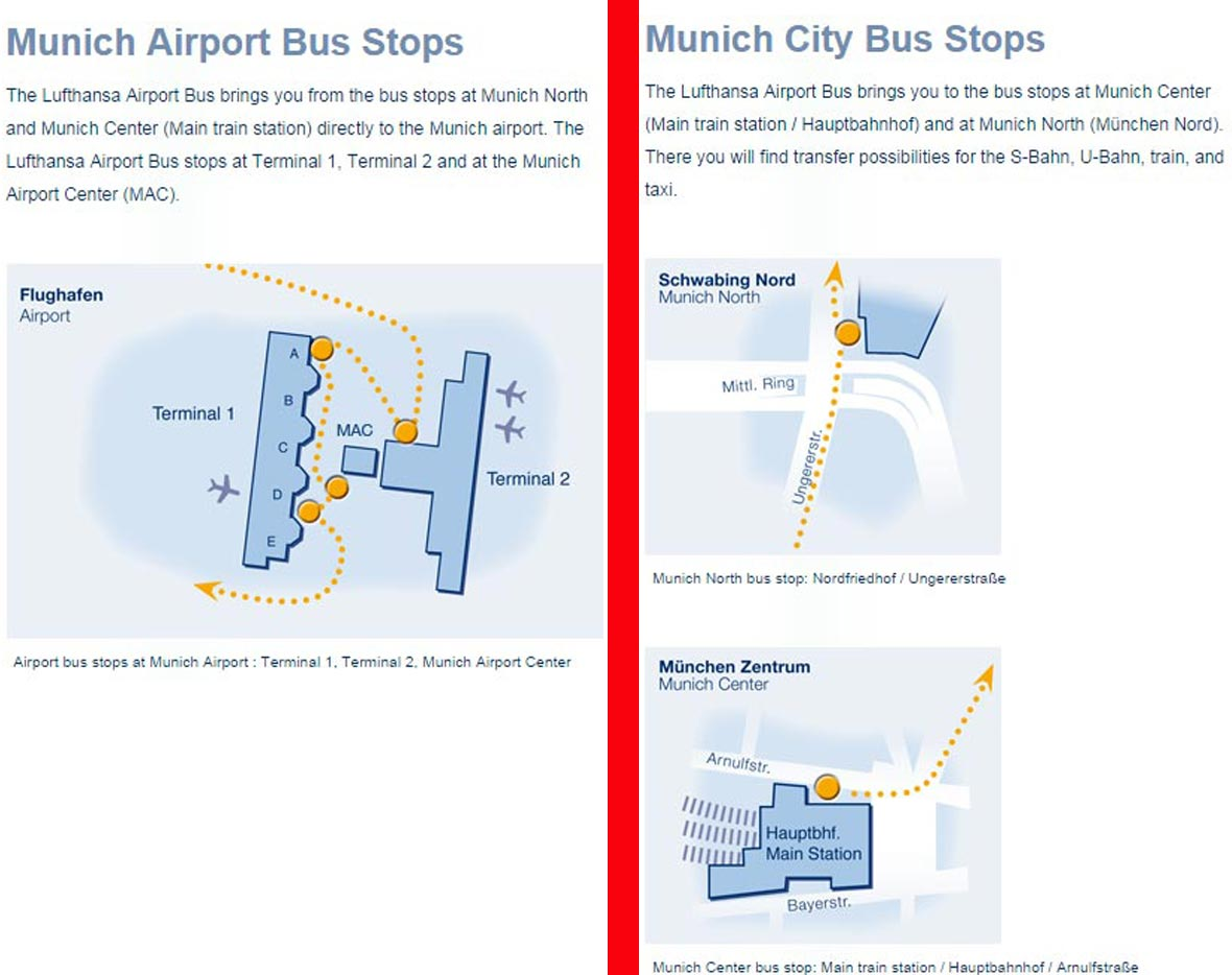 Tickets to Munich Airport Bus AirportShuttleTicketscom