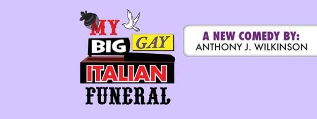 My Big Gay Italian Funeral på Broadway i New York er en meget morsom komedie Bestil dine billetter til My Big Gay Italian Funeral i New York her!