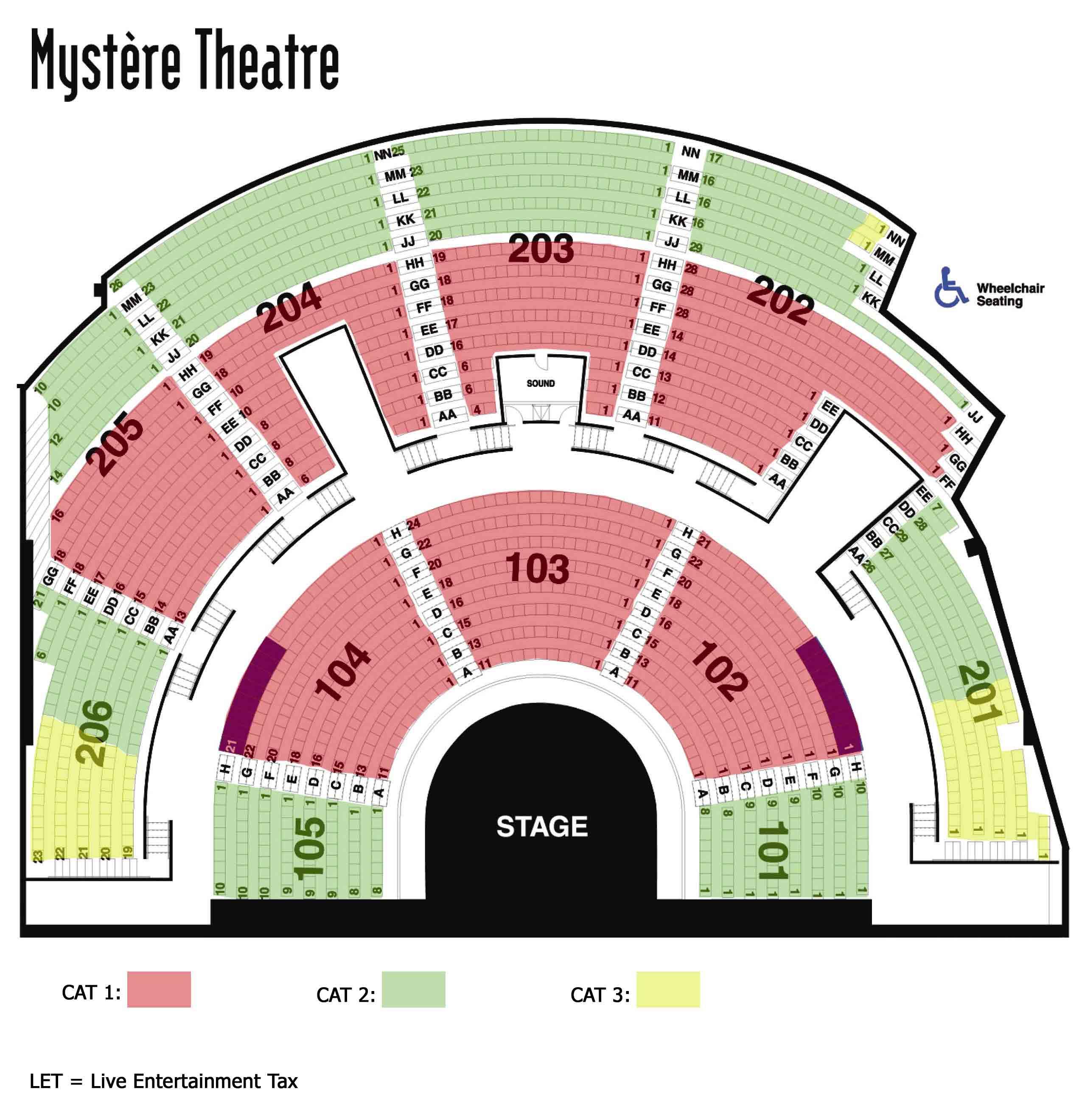 Biljetter Till Mystere Cirque Du Soleil Las Vegas