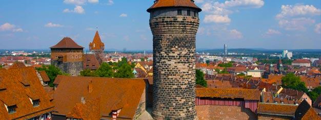 Biljetter till heldagstur till den medeltida Bayerska staden Nürnberg! Biljett guidad dagstur från München till Nürnberg köper du här, säker online bokning!