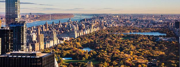 koppla in i New York City